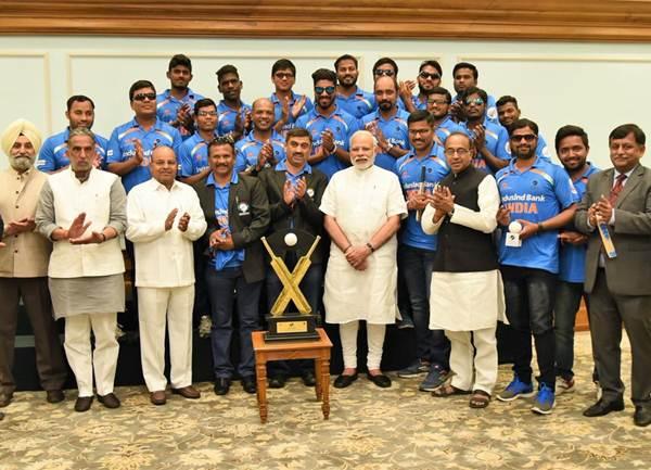 Team India blind