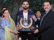 Virat Kohli, Coach Rajkumar Sharma