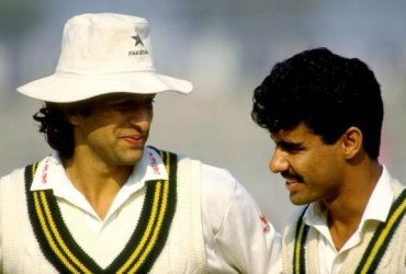Wasim Akram and Waqar Younis of Pakistan