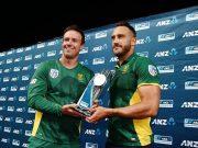 AB de Villiers and Faf du Plessis