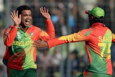 Bangladesh bowler Abdur Razzak