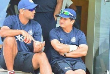 Abhay Sharma and Rahul Dravid