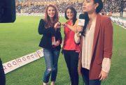 Bismah Maroof, Momina Mustehsan and Zainab Abbas PSL