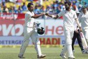 Cheteshwar Pujara and KL Rahul India