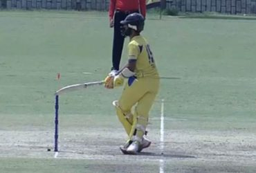 vijay hazare trophy Dinesh Karthik hit-wicket