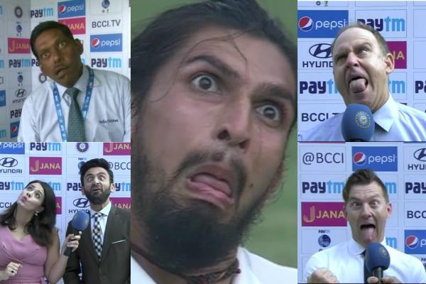 Ishant Sharma Face Game