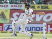 KL Rahul bats during Day 4 India
