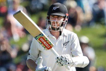 Kane Williamson of New Zealand