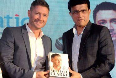 Michael Clarke and Sourav Ganguly