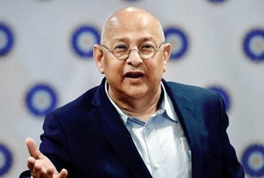 BCCI acting secretary Amitabh Choudhary attends a media session. (Photo Source: Twitter)