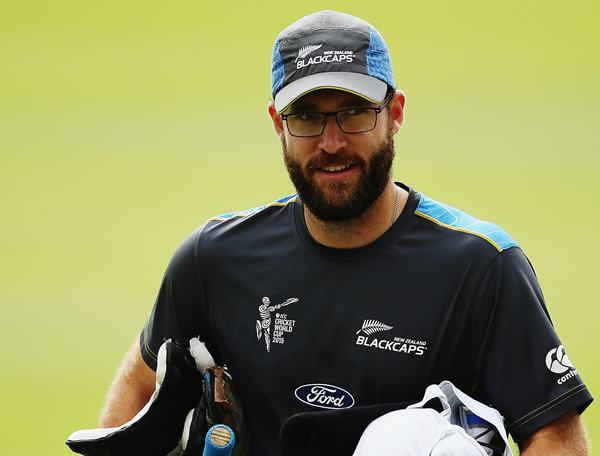 Daniel Vettori of New Zealand