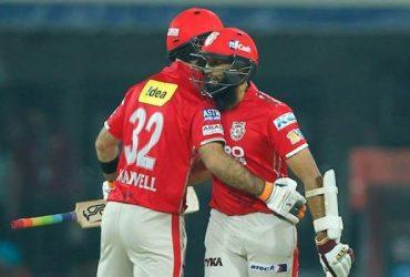 Hashim Amla and Glenn Maxwell IPL Kings XI Punjab