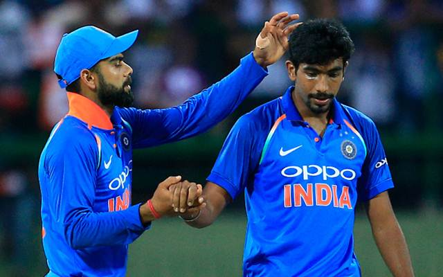 Jasprit Bumrah and Virat Kohli Best Right-Handed XI