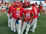 Kings XI Punjab Huddle