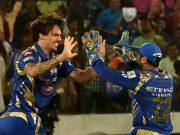 IPL 2017 Mitchell Johnson of Mumbai Indians IPL Final