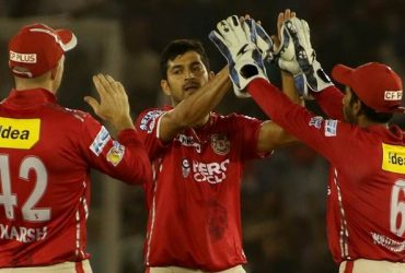 Mohit Sharma of Kings XI Punjab