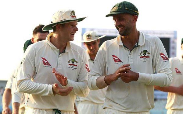 Nathan Lyon Bangladesh v Australia