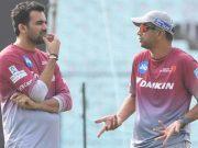 Delhi Daredevils coach Rahul Dravid