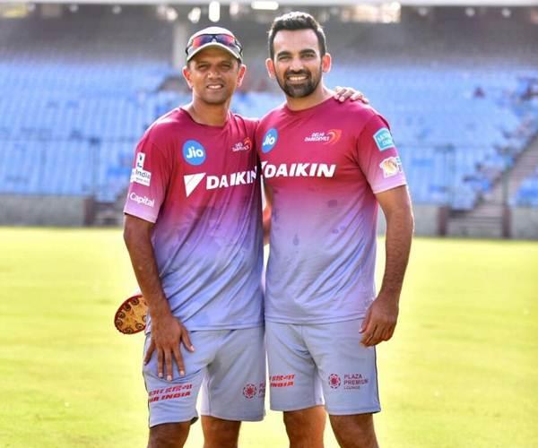 Rahul Dravid and Zaheer Khan IPL