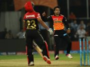 Rashid Khan of Sunrisers Hyderabad