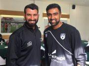 Ravi Ashwin and Cheteshwar Pujara