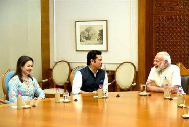 Sachin Tendulkar and Narendra Modi trends