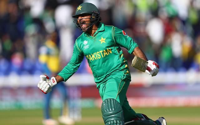 Sarfraz Ahmed of Pakistan