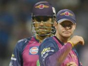 Steve Smith and MS Dhoni