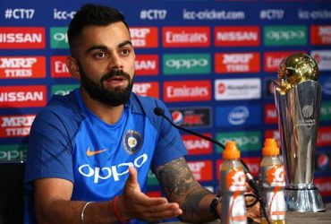 India captain Virat Kohli chats to media during the Press Conference