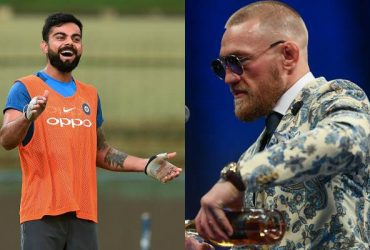 Virat Kohli and McGregor