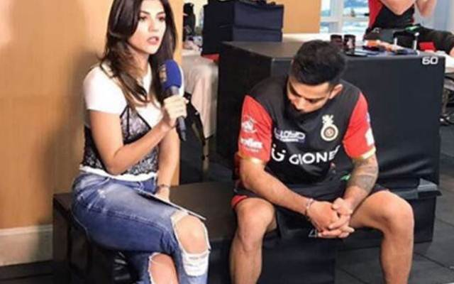 Archana Vijaya and Virat Kohli