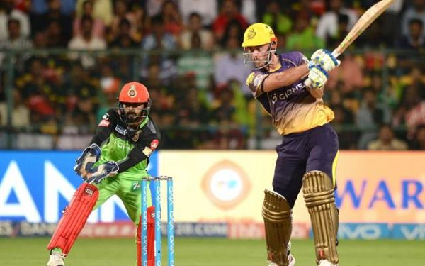 Chris Lynn of Kolkata Knight Riders in Action | CricTracker.com