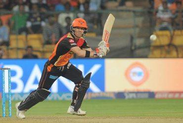 Sunrisers Hyderabad skipper David Warner