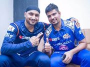 Harbhajan Singh and Karn Sharma