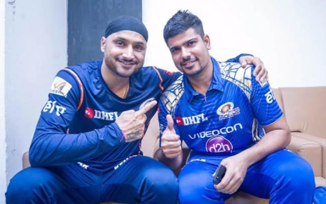 Harbhajan Singh and Karn Sharma
