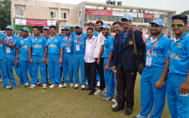 India disabled cricket