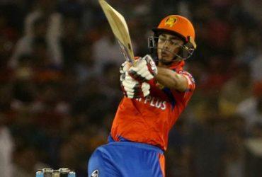 Mohali: Ishan Kishan of Gujarat Lions in action