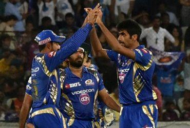 Jasprit Bumrah of Mumbai Indians. IPL