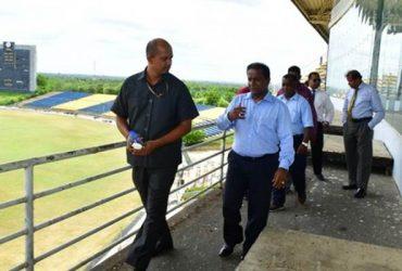 Mahinda Rajapaksa International Cricket Stadium (MRICS) in Sooriyawewa