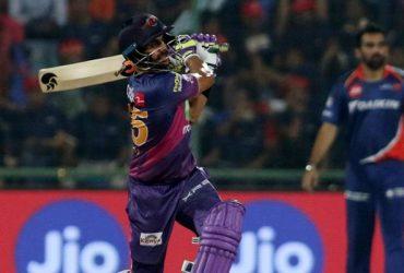 Manoj Tiwari of Rising Pune Supergiants
