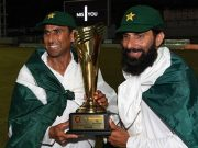 Misbah-ul-Haq and Younis Khan Pakistan