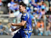 Mitchell McClenaghan of Mumbai Indians