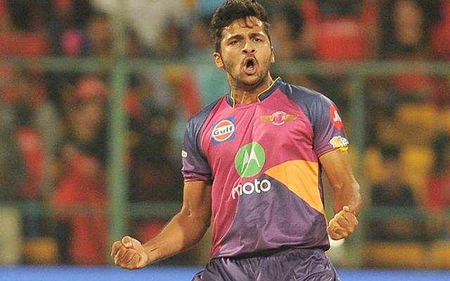 Shardul Thakur of Rising Pune Supergiant
