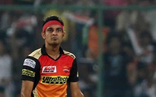 Siddharth Kaul of Sunrisers Hyderabad
