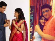 Sourav Ganguly and Sana Ganguly