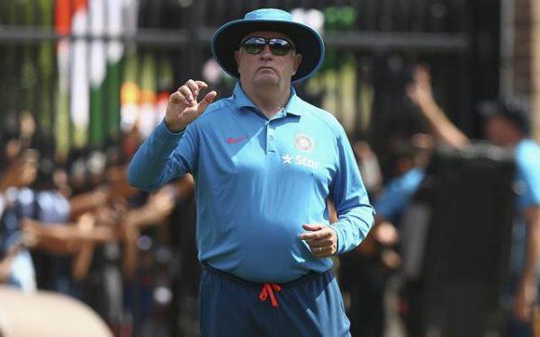 Duncan Fletcher, coach of India