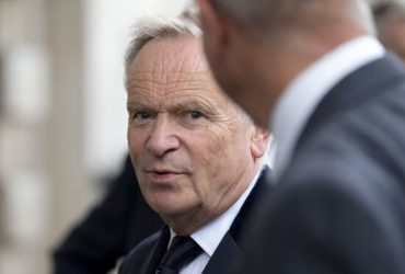 British author and former politician Jeffrey Archer