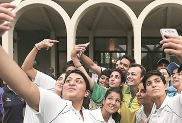 Kashmiri female cricketers