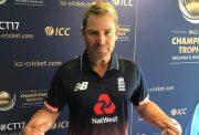 Shane Warne in an England
