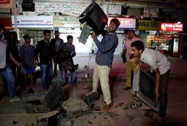 TVs broken in Ahmedabad